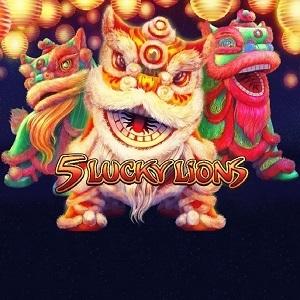 5 Lucky Lions Spielautomat