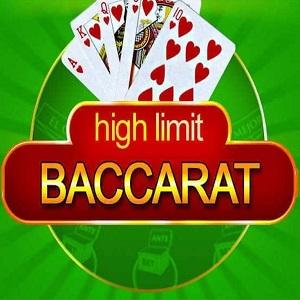 High Limit Baccarat Spiel