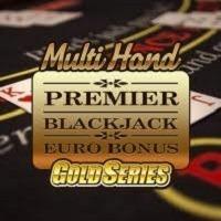 Multi Hand Premier Blackjack Gold Spiel